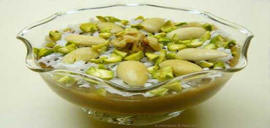 Aleppo-sweets