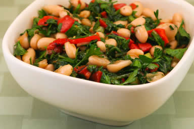 Dried beans salad