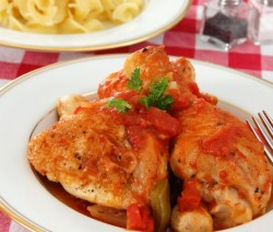 Chicken with-Tomatoes