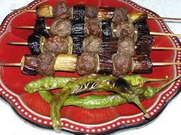 Eggplants Kebab