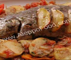 Fish with Potatoes ‫‬