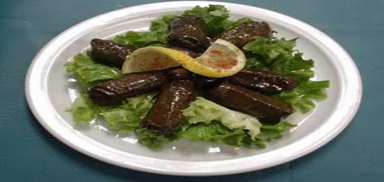 Grape Leaves with Chick Peas