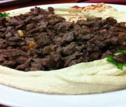 Hommos-with-meat