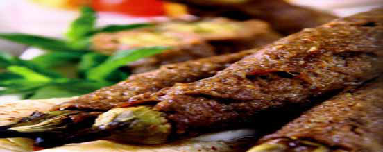 Kofta kebab Eggplant