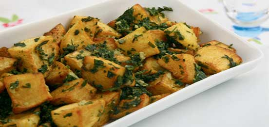 Potato with Coriander