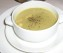 Salmon asparagus soup
