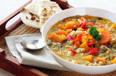 Turkish vegetable soup