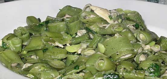 Broad Beans with Oil