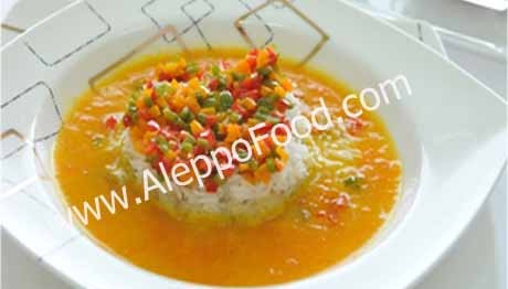 carrot and eggplant soup