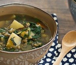 chard lentil soup