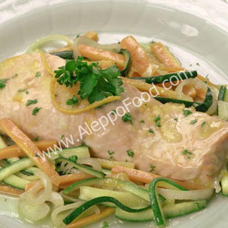 grilled fish with Taratour Sauce