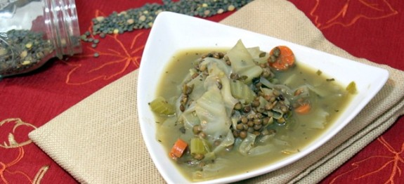 lentil cabbage soup