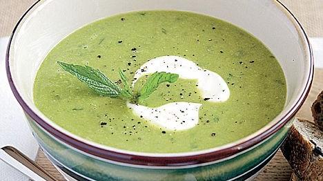 mint soup