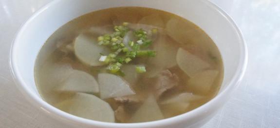 radish soup recipe