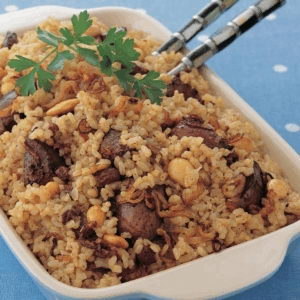 Rice with liver