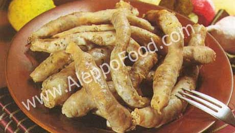 sheep intestines
