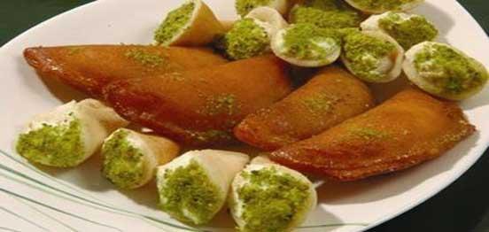 Fried Katayef - Egyptian Dessert Recipe - Food.